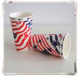 Tazas de papel disponibles respetuosas del medio ambiente al por mayor