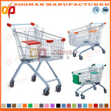 Gute Qualitätssupermarkt-Euroart-Einkaufswagen-Laufkatze (Zht5)