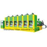 Espuma EVA automática máquina de moldeo por inyección de zapata (6 mesas).