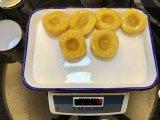 Fábrica de conservas de frutas pêssego amarelo da China