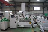 Holzbearbeitung 4axis CNC-Skulptur-Maschine für die Möbel, die Maschine herstellen