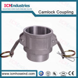 Quick Aluminum Connector type B Camlock pants pipe fitting