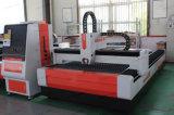 Máquina de corte láser de fibra corte de metal para Metales Acero