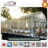 La Plaza Mayorista de lujo carpas bodas con alas de doble puerta de cristal