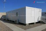 Casa do contêiner casas modulares com televisão Pack Solution