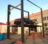 Der Mutrade Cer-Bescheinigungs-zwei Pfosten-Auto-Heber Fußboden-Fahrzeug-hydraulischer Höhenruder-der Plattform-vier