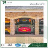 Parcheggio Elevated dell'automobile del pavimento dell'elevatore idraulico dell'alberino di marca 2 di Gg