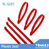 Individu verrouillant le scellement en plastique scellé par sécurité (YL-S251)