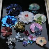 Form-Kleidungs-Dekoration-Blumehandgemachtes buntes Sequin-Änderung- am Objektprogrammschutzkappen-Kleid