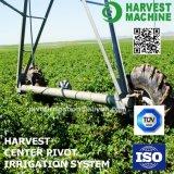 Полив распыляя системы разбивочной оси аграрный