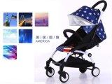 Léger et portable 2 pliable en 1 enfant de la PRAM poussette de bébé