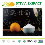 precio de fábrica directamente Stevia Edulcorante Natural Reb-un 97% para alimentos instantáneos