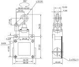 Magnetische Schakelaar van de Grens csa-012 de Waterdichte IP66 Schakelaar van de Grens