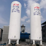réservoir de stockage cryogénique du vide 10m3 pour l'argon liquide de l'oxygène de CO2