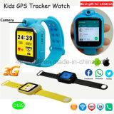 SIM Card Slot D18s를 가진 3G/WiFi Sos Safety Kids GPS Tracker Watch