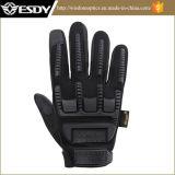 Чернота перчаток полного перста Esdy новой модели напольная тактическая