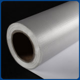 Da bandeira Printable feita sob encomenda do cabo flexível do PVC Blockout do material do rolo da qualidade superior cinza White-