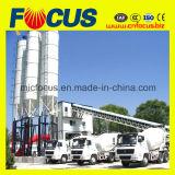 Impianto di miscelazione concreto automatico del PLC, pianta d'ammucchiamento concreta Hzs90