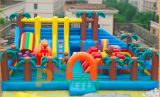 아이들 (FC-006)를 위한 주문 팽창식 제품 쾌활한 성곽