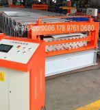 Rodillo del panel de la azotea de la capa doble que forma la máquina