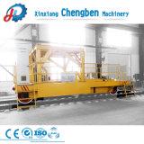 Manual de alta freqüência de linha de corrediça Powered Ferrovia Veículo de Transferência