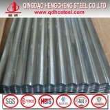 Tôle d'acier ondulée plongée chaude de Galvalume pour le matériau de construction