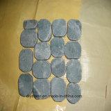El azulejo barato gris embaldosa ajardinar de la decoración de la pared