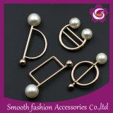 Bufanda de moda mayorista hebilla decorativa Pearl Botón Broche aguja Pin