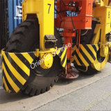 Behälter Carrrier Gummireifen-Behälter-Handhabungsgerät-Reifen für Portgebrauch