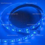 Luz de tira flexível ao ar livre impermeável do diodo emissor de luz da decoração SMD5050 14.4W/M RGB