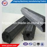 Toute forme de briquettes de charbon de bois noir dans le type à tête hexagonale