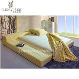 Кровать платформы мебели спальни ткани B09 самомоднейшая