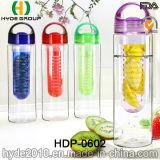 Модные Тритан пластиковые фрукты вливания воды, 700 мл BPA бесплатно бутылка воды (ПВР-0602)
