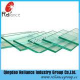Ce/ISO délivre un certificat la glace en verre de flotteur d'espace libre de 8mm/construction/la glace en verre Tempered/guichet