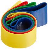 Ejercicio del bucle de la venda de la resistencia, rodilla/muslo, círculo 4 PK, rehabilitación, fisia, tono del tobillo