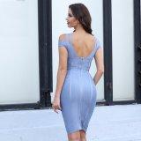 Sequined Querabschlußball-Kleid