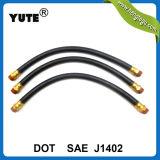 Piezas de camiones SAE Tubo flexible de frenos de goma con accesorios de latón de 3/8 pulgadas