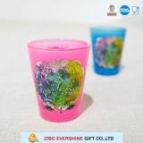 [ليغت كلور] لون قرنفل ملصق مائيّ طباعة تجمّد طلقة خردق فنجان زجاج