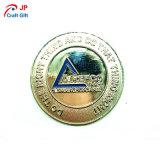 Moneda de prueba rica de encargo del metal del laminado