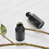 50 ml de botellas de aluminio negro mate para el envasado de aceite (la FDA certificada)