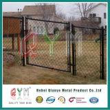 Belüftung-überzogener Kettenlink-Zaun und Gatter-System
