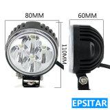 12W 3pulgadas Ronda Epistar LED Lámpara automática de luz LED de trabajo