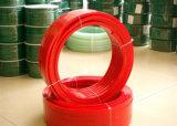 Câmara de ar do poliuretano, mangueira do poliuretano, mangueira do plutônio com cor vermelha, amarela