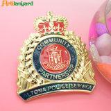 La polizia di Promotinal Badge con il disegno