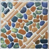 De waterdichte Kleurrijke Steen kijkt Tegel van de Vloer van de Badkamers de Ceramische