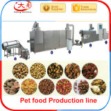Ligne de production alimentaire de crabot d'animal familier