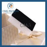 Caja de embalaje de la joyería con la cinta de seda (CMG-PJB-027)