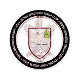 Défi de souvenirs de la ville personnalisé Pièce de monnaie commémorative de collecte de l'emblème de conception 3D