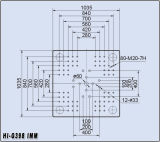 398t Machine de moulage par injection plastique Hi-G398