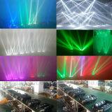 araña principal móvil de la viga de la luz LED de la etapa 8X10W